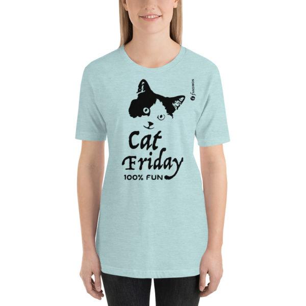 Cat Friday - Short-Sleeve Unisex T-Shirt - Design by fANSIMON