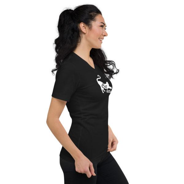 Catherine - Unisex Short Sleeve V-Neck T-Shirt - Design by fANSIMON