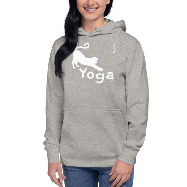 Cat Yoga - Unisex Hoodie - Design by fANSIMON