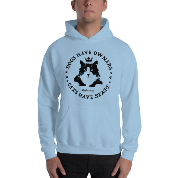 Cats Have Staff - Unisex Hoodie - Design by fANSIMON
