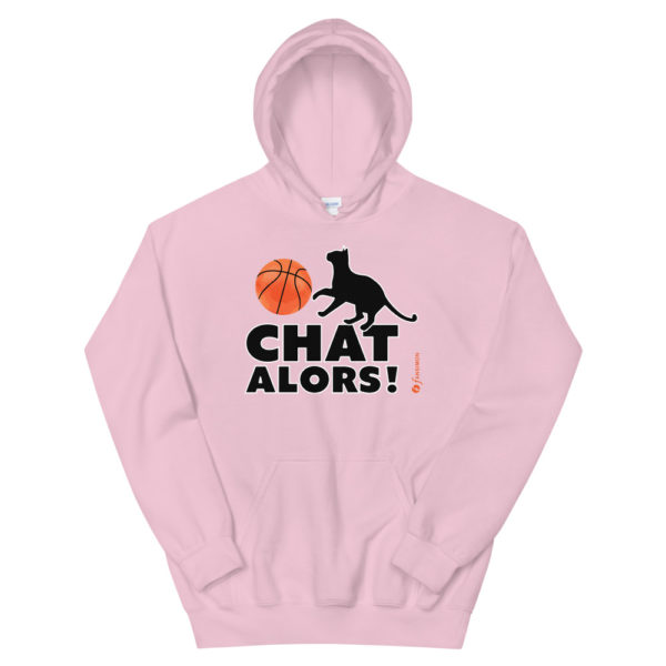 Basketball Chat alors - Unisex Hoodie - Design by fANSIMON