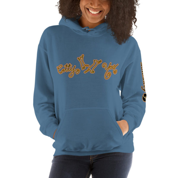 Catty New Year - Unisex Hoodie - Design by fANSIMON