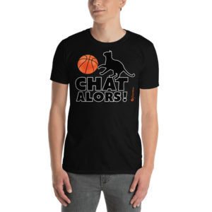 Basketball chat alors - Short-Sleeve Unisex T-Shirt - Design by fANSIMON